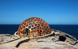 Le sculture tramite la mostra del mare a Bondi tirano, Sydney, Australia Fotografie Stock