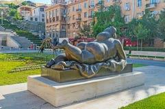 Le sculture a Yerevan fotografia stock libera da diritti
