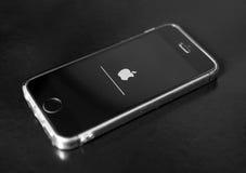 Le Se d'IPhone est mis à jour Image libre de droits
