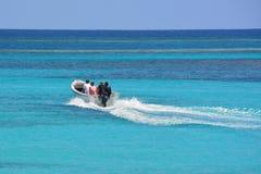Le seaboat des voyageurs Image stock