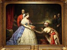 Le secret de la grandeur de l'Angleterre, par Thomas John Barker photographie stock libre de droits