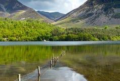 Le secteur anglais de lac Images libres de droits