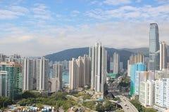 le secteur blême de Tsuen à Hong Kong 2017 photographie stock