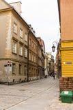 Le secteur de la vieille ville à Varsovie, Pologne Photos stock