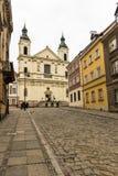 Le secteur de la vieille ville à Varsovie, Pologne Photos libres de droits