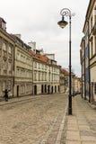 Le secteur de la vieille ville à Varsovie, Pologne Images stock