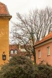 Le secteur de la vieille ville à Varsovie, Pologne Photo libre de droits