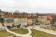 Le secteur de la vieille ville à Varsovie, Pologne Photographie stock libre de droits