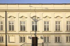 Le secteur de la vieille ville dans la ville Varsovie, Pologne Image stock