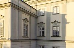 Le secteur de la vieille ville dans la ville Varsovie, Pologne Image libre de droits