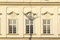Le secteur de la vieille ville dans la ville Varsovie, Pologne Photographie stock libre de droits