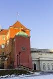 Le secteur de la vieille ville dans la ville Varsovie, Pologne Photo libre de droits
