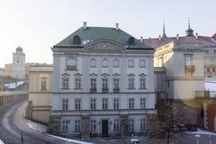 Le secteur de la vieille ville dans la ville Varsovie, Pologne Images stock