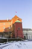 Le secteur de la vieille ville dans la ville Varsovie, Pologne Photographie stock