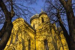 Le secteur de la vieille ville dans la ville Varsovie, Pologne Photos stock