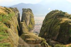 Le secteur de Meteora Photo libre de droits
