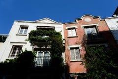 Le secteur de Montmartre image stock