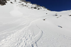 Le secteur de ski de remarkables photos stock