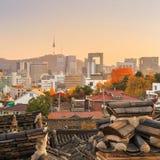 Le secteur historique de Bukchon Hanok photos stock