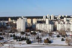 Le secteur l'est à Minsk Photo libre de droits