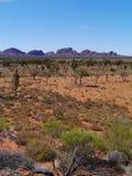 Le secteur rouge australien Photographie stock libre de droits
