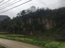 Le secteur scénique de montagne de Baishi vaut votre secteur scénique de montagne de whileBaishi, il vaut vous et moi d'aller voi photo libre de droits