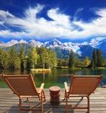Le sedie di salotto per resto Fotografia Stock Libera da Diritti