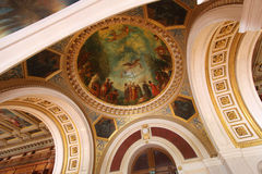 Le Senat, Palais DU Luxemburg, Paris, Frankreich Lizenzfreies Stockfoto