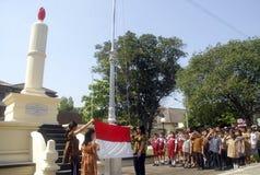 LE SERMENT DU NATIONALISME INDONÉSIEN photos libres de droits