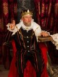 Le serment du roi sur la bible image libre de droits