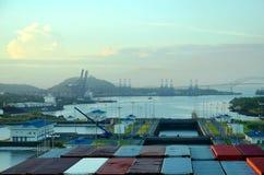 Le serrature di Cocoli abbelliscono, canale di Panama immagini stock