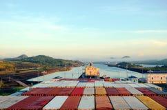 Le serrature di Cocoli abbelliscono, canale di Panama immagine stock libera da diritti