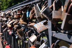 Le serrature di nozze immagini stock