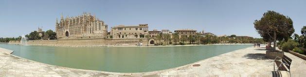 Le Seu, cathédrale de Palma de Mallorca Photo stock