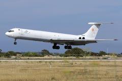 Le seul cargo de la cargaison Il-62 en existence photo libre de droits
