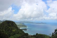 Le Seychelles, Africa Immagini Stock