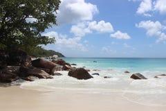Le Seychelles, Africa Immagini Stock Libere da Diritti