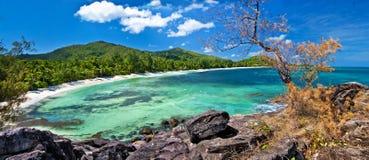 Le Seychelles di stupore Immagini Stock Libere da Diritti
