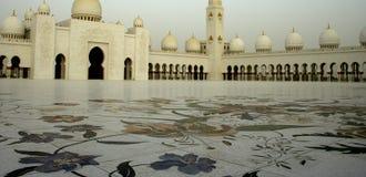 le shaikh de mosquée zayed Photos libres de droits