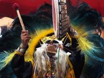 Le shaman indien Images libres de droits
