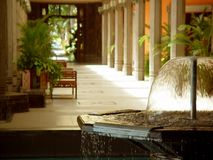 Le Shandrani Resort, Mauritius Stockfotos