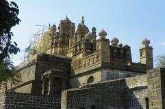 Le Shikhara du temple de Bhuleshwar Photographie stock