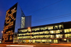 Le siège social de Swedbank, Vilnius Photos libres de droits