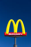 Le signe de grand McDonald Photos stock