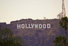 Le signe de Hollywood Image libre de droits