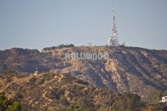 Le signe de Hollywood Images libres de droits