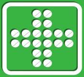 Le signe de la pharmacie. Photos libres de droits