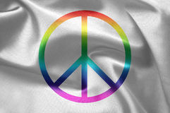Le signe de paix Photographie stock libre de droits