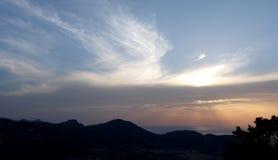 Le signe du ciel photos stock