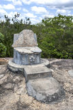 Le site antique de Madya Mandalaya situé environ 20 kilomètres du Panama dans Sri Lanka Photos stock